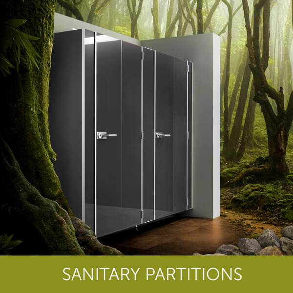 Sanitary-partitions